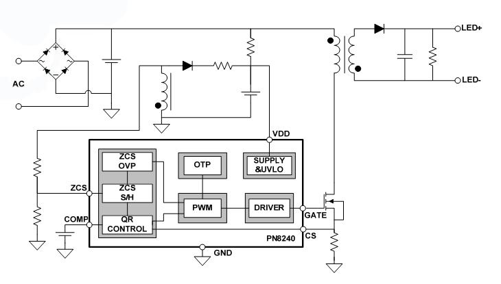 led恒流驱动ic应用电路