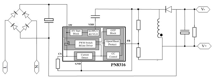 集成电路(ic)-选择led电源ic方案,当选中铭,我们成熟