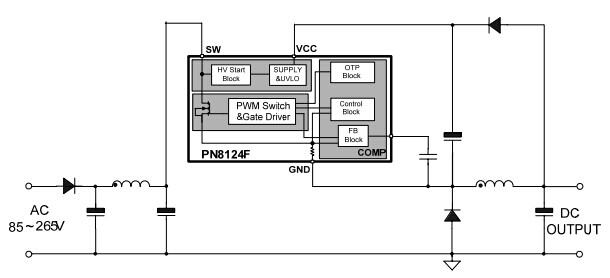 pn8124 应用电路