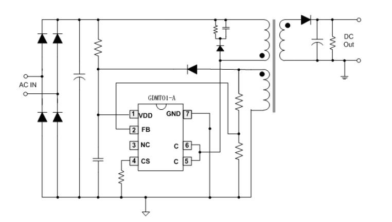 高性价比的开关电源ic-gdmt01-a|适配器电源芯片|中铭