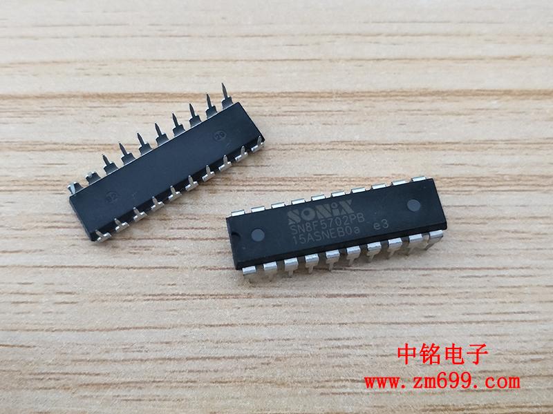 具备12位元高精度ADC相容MCS-51指令集的八位元微控制器-SN8F5702