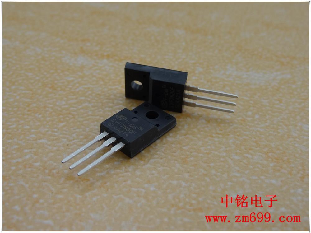 5A 800V N沟道增强型场效应管--SVF5N80F/T/MJ/K
