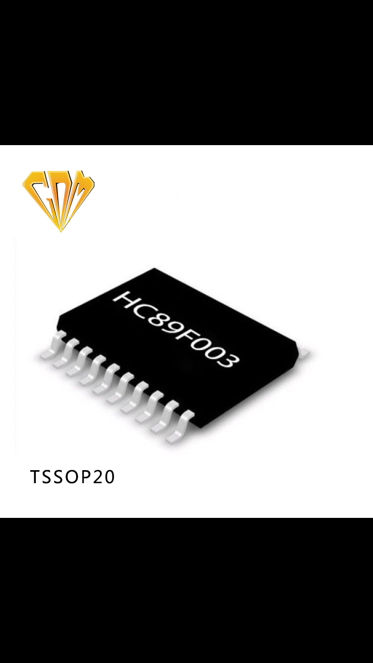 Pin-pin脚位兼容,无缝替换STM8S003--HC89F003单片机