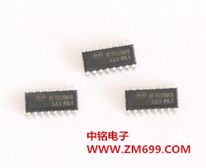 带LED驱动、EEPROM、12bit-ADC的触控MCU--BF7612BMXX