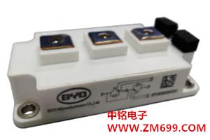 采用IGBT芯片和FRD芯片的功率模块--BG200B12UY4-I
