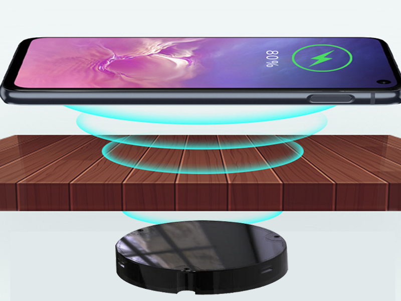 嵌入式桌面无线充电器 智能家具无线快充A-10